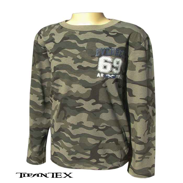 26dcd916fba6 Tričko detské SEZON army 69 - dlhý rukáv - detské tričká Tifantex