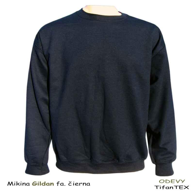 feacba46ca Mikina pánska Gildan čierna nadrozmerná