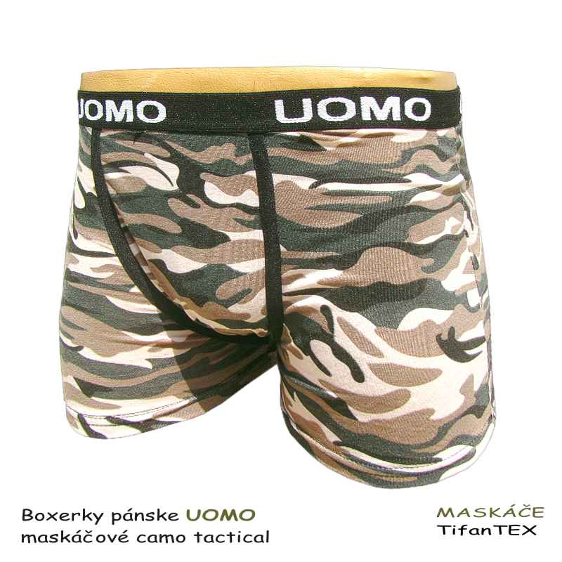 fac86e81a43b Boxerky pánske UOMO Camo tactical