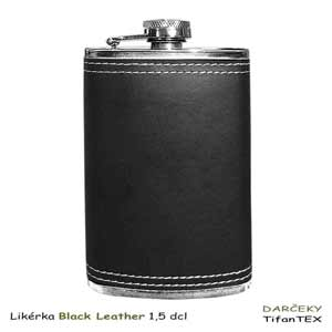 Ploskačka Black Leather 1,3 dcl