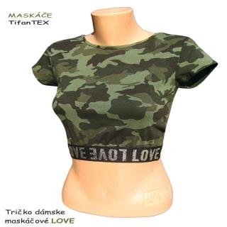 cea2cb544754 Maskáčové tričká a tielka pre ženy - TifanTEX odevy