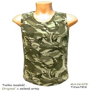648da575bdb Tielko maskáčové dámske Original´s zelená army empty