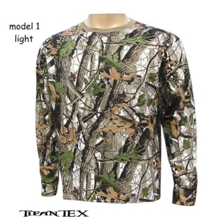 Tričko ANDAEISTR Realtree white light